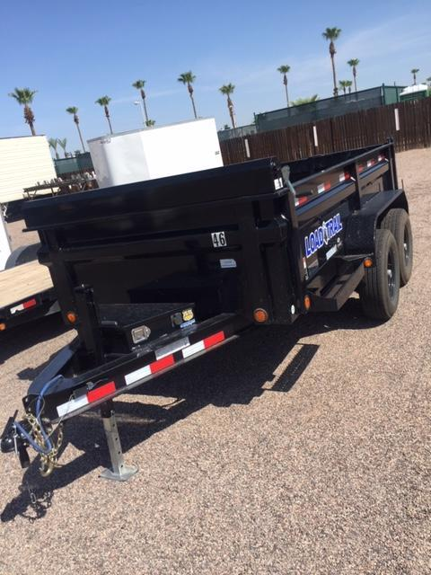 RENT ME! 6x12 Dump Trailer *NOT FOR SALE*