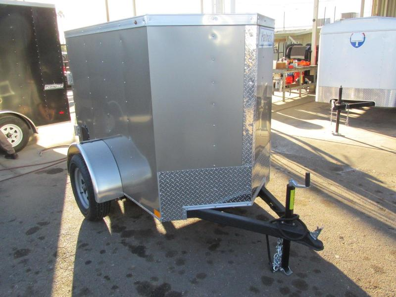 2018 Haulmark 4X6 Enclosed Cargo Trailer
