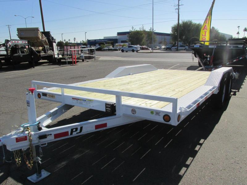 2018 PJ Trailers 102x18 Car / Racing Trailer