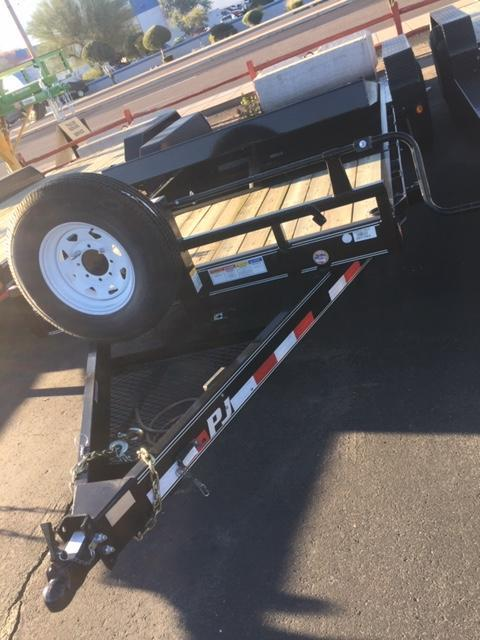 "81"" x 20' PJ Trailer T6 Equipment"