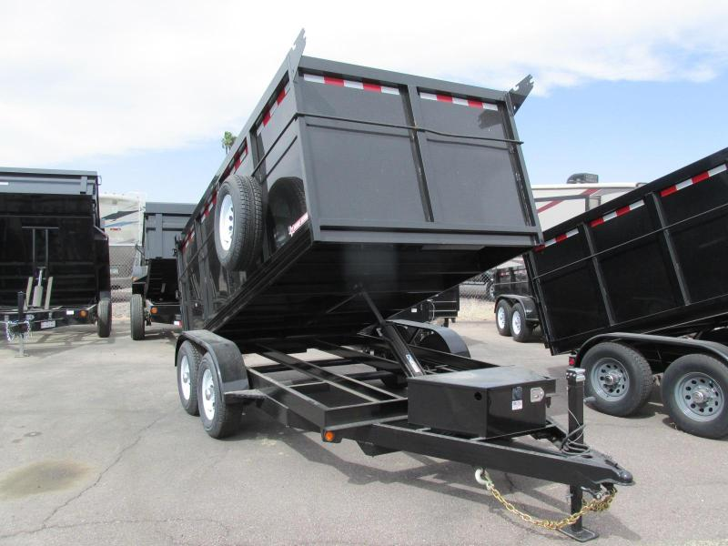 2018 Five Star 6.5x12 Dump Trailer
