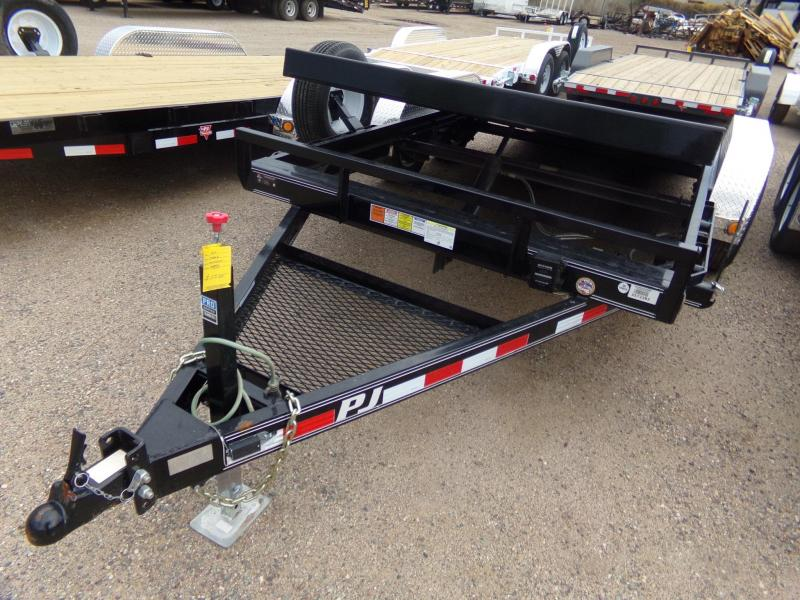 "83""x16' PJ Trailer with Hydraulic Tilt  3 Year Warranty"