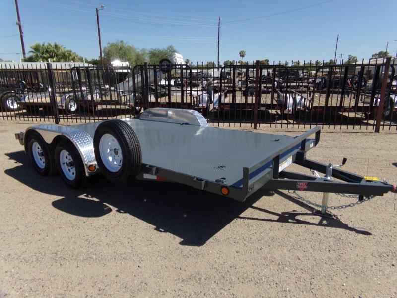 2019 PJ Trailers Car Hauler 16 STEEL DECK Car / Racing Trailer