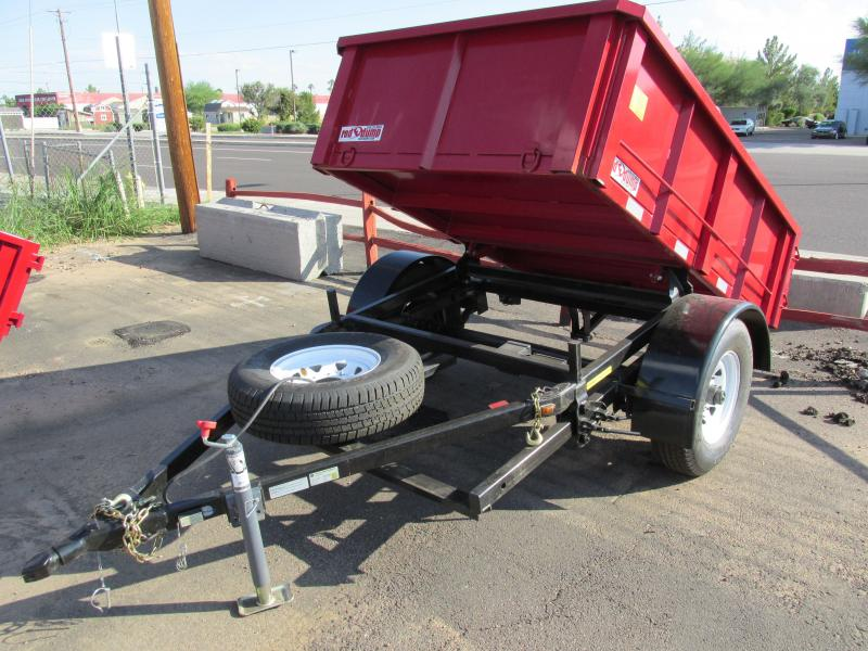 2015 RED E Dump Trailer 5x8 No Hydraulics Needed / Reliable