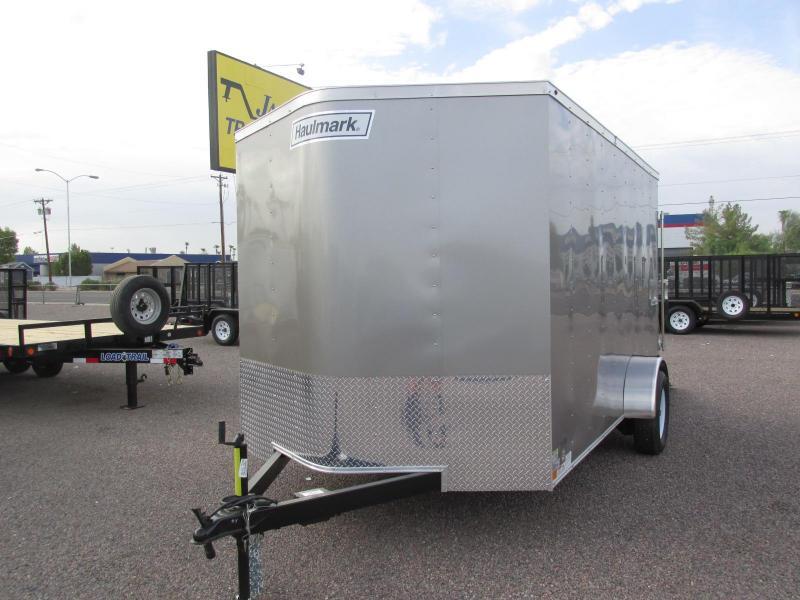 2018 Haulmark 7x12 Enclosed Cargo Trailer