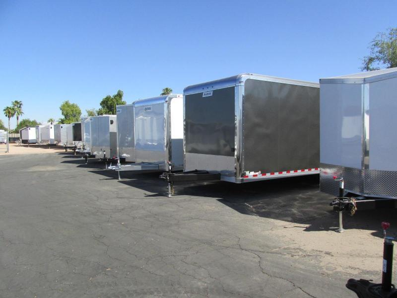 Haulmark 8.5 x 20-24 Enclosed Cargo Trailers Overstocked!