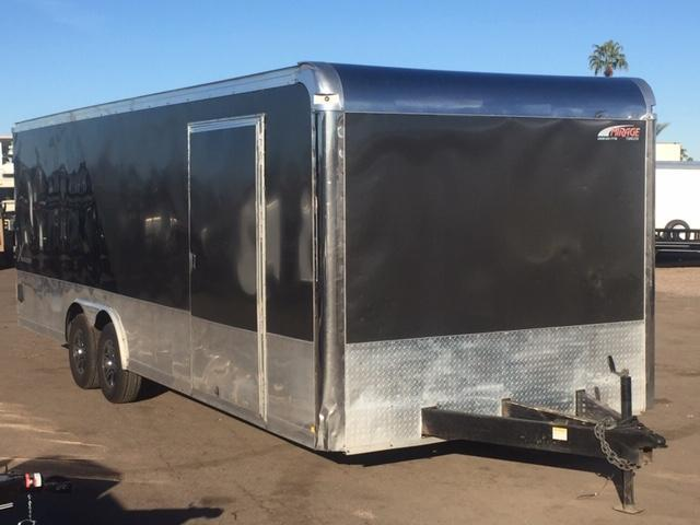 USED 8.5x24 Mirage Trailers Xecutive Enclosed Cargo Trailer