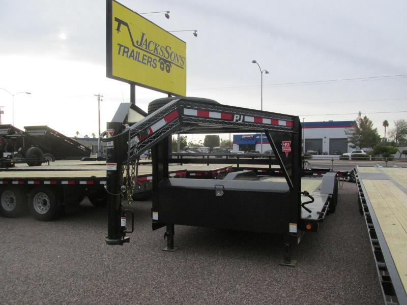 2019 PJ Trailers 102x24 Super Wide Tilt Flatbed Trailer