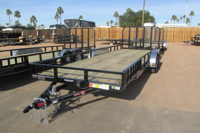 "2017 PJ Trailers 22 x 83"" Channel Utility Utility Trailer"