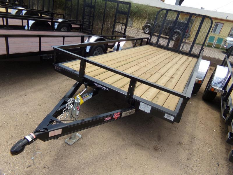 72'x14' PJ Trailers Utility Trailer 3 Year Warranty and Powder Coated