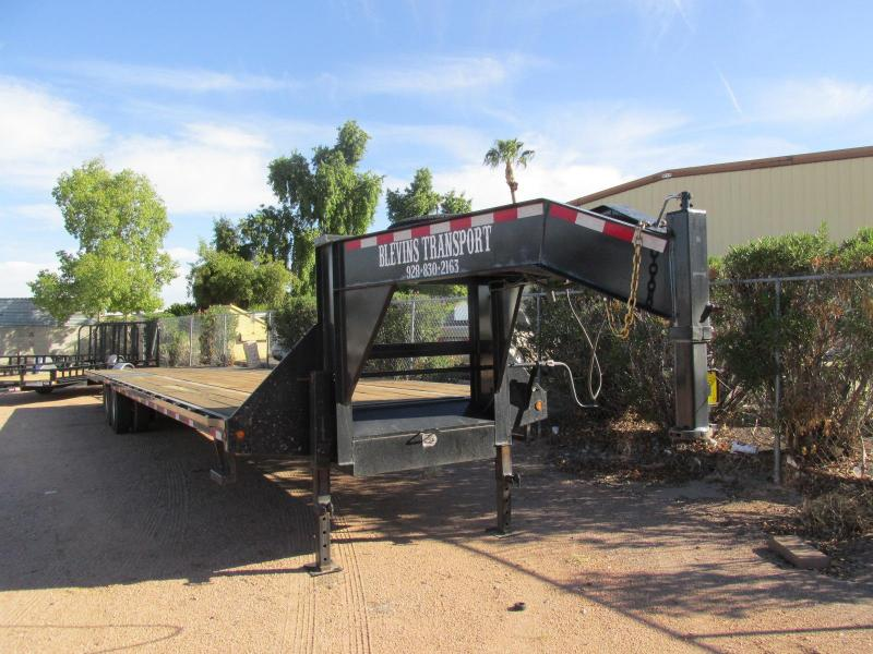 2014 Big Tex Trailers 102x40 Flatbed Trailer