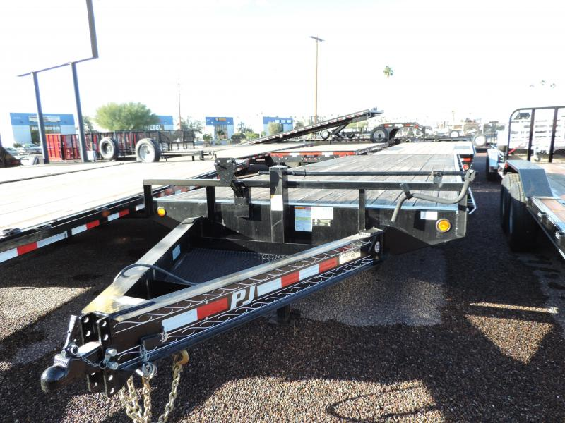 2018 PJ Trailers 24x8 Equipment Trailer