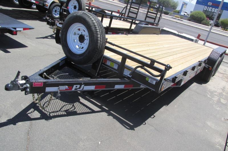 "PJ Trailer CC Equipment 83""x22"" Strong Build"