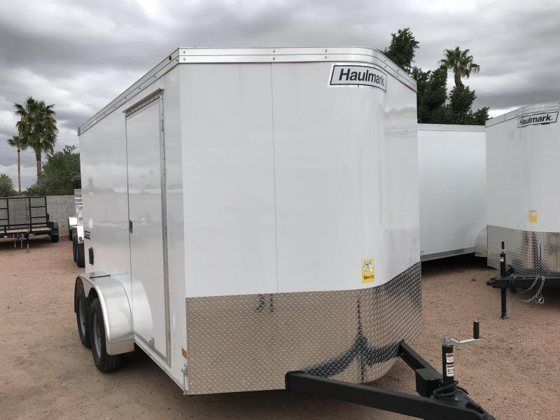 2019 Haulmark 7x12 Enclosed Cargo Trailer