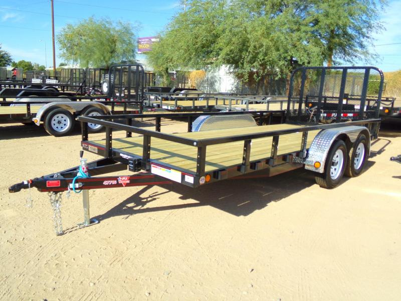 2018 PJ Trailers CHANNEL Utility Trailer