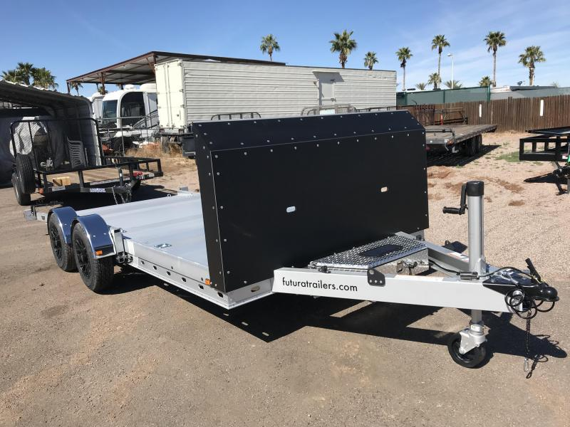 2019 Futura Trailers 16.5X81  Car / Racing Trailer