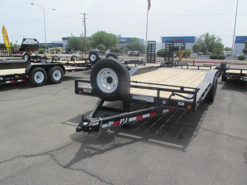 2018 PJ Trailers 6 Channel Super-Wide Equipment Trailer