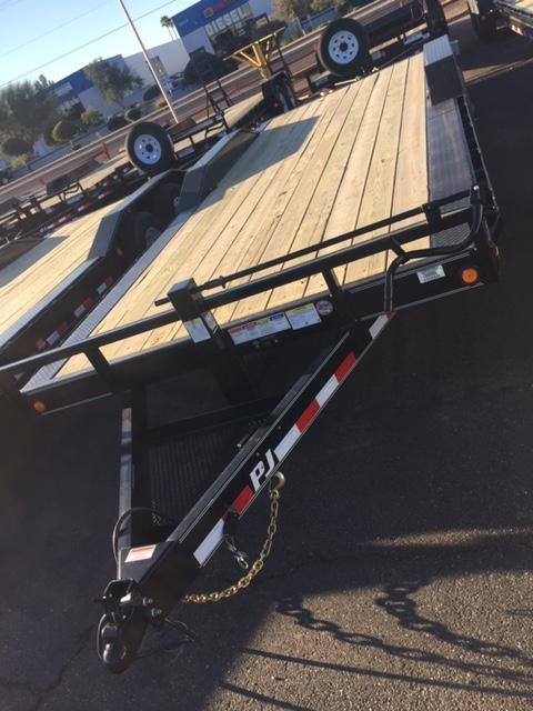 "2019 102""x22' PJ Trailer Equipment 3-Year Warranty"