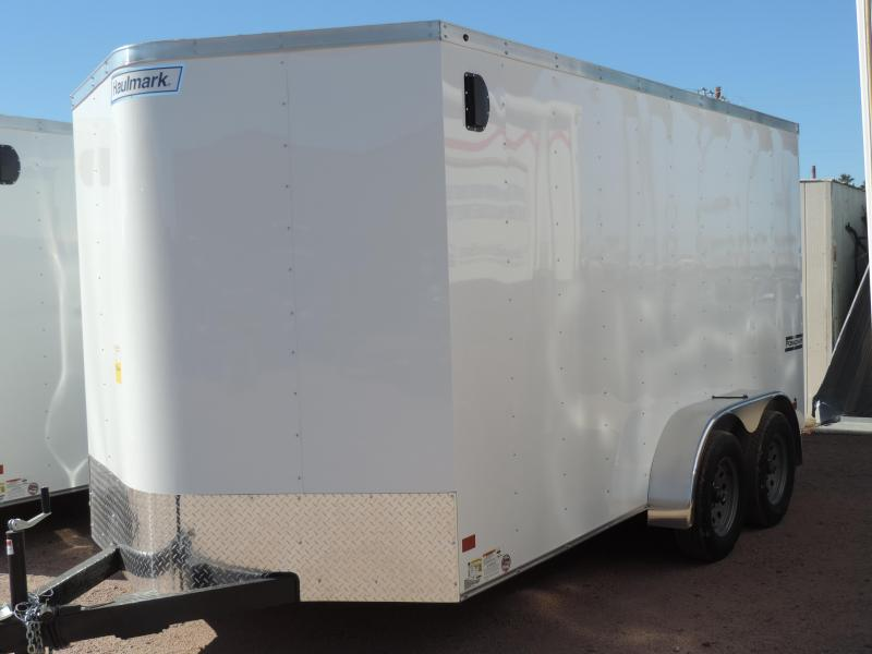 2018 Haulmark 7x14 Enclosed Utility Trailer