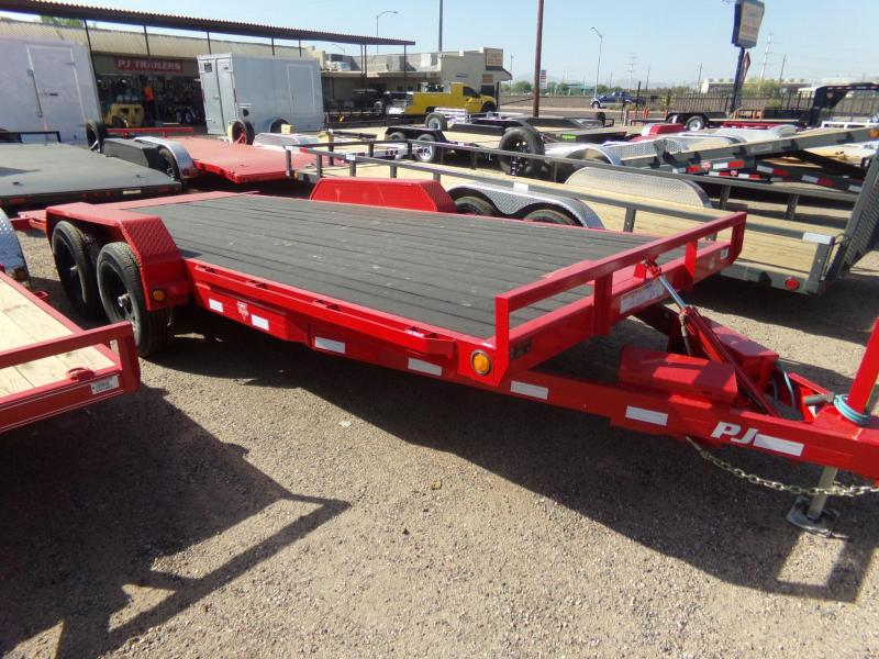 2019 PJ Trailers 20 FT TILT CAR HAULER BLACKWOOD DECK Car / Racing Trailer