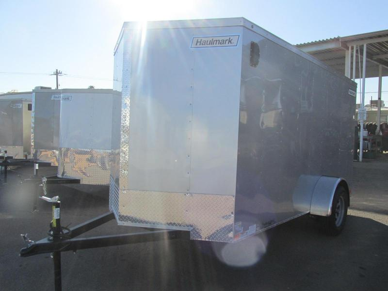 2018 Haulmark 6x12 Enclosed Cargo Trailer