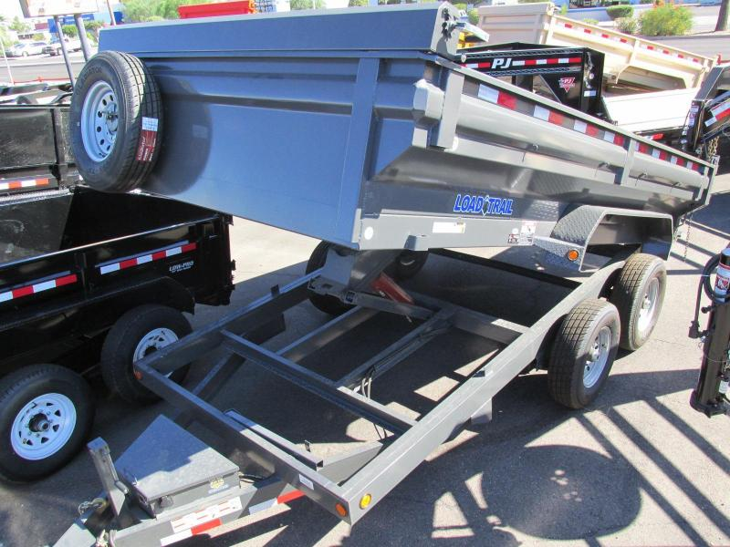 ON SALE Load Trail 83x14 Dump Trailer Powder Coated / 3 Year Warranty