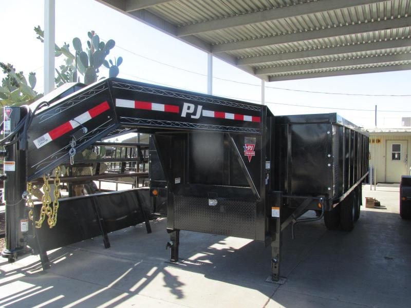 2019 PJ Trailers 83x18 Dump Trailer