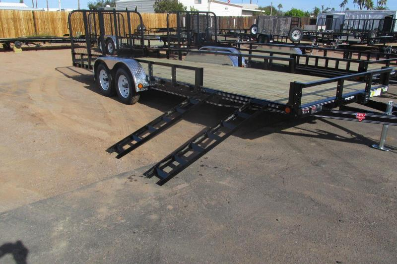 2017 PJ Trailers 22 x 83 Channel Utility Utility Trailer