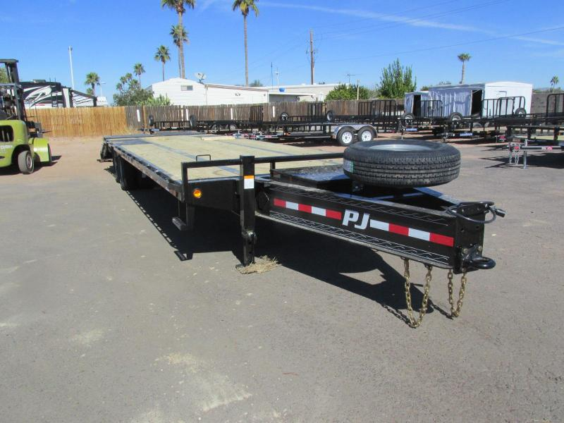 2018 PJ Trailers 30X102 Equipment Trailer