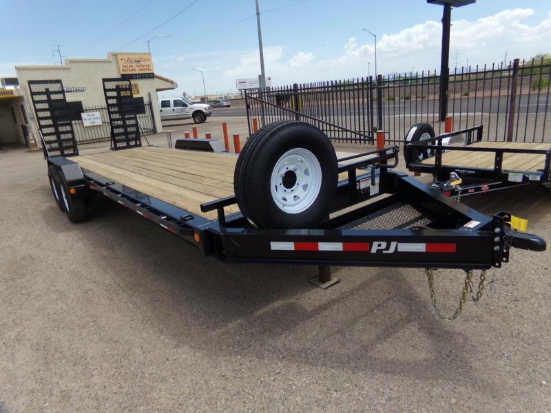 "83""x24' PJ Trailers H4 Equipment Trailer"