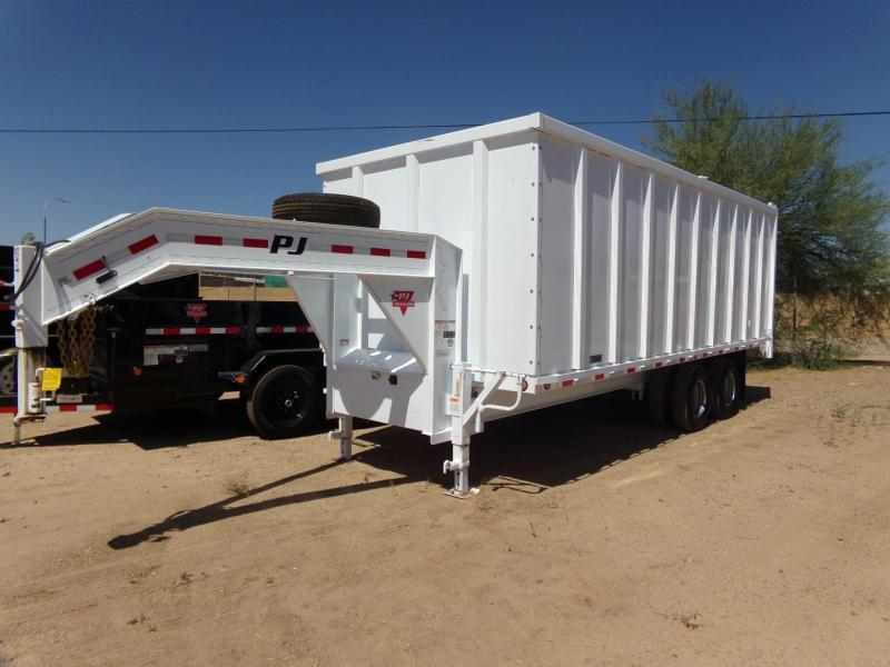 2019 PJ Trailers GOOSENECK DUMP HIGH SIDE Dump Trailer