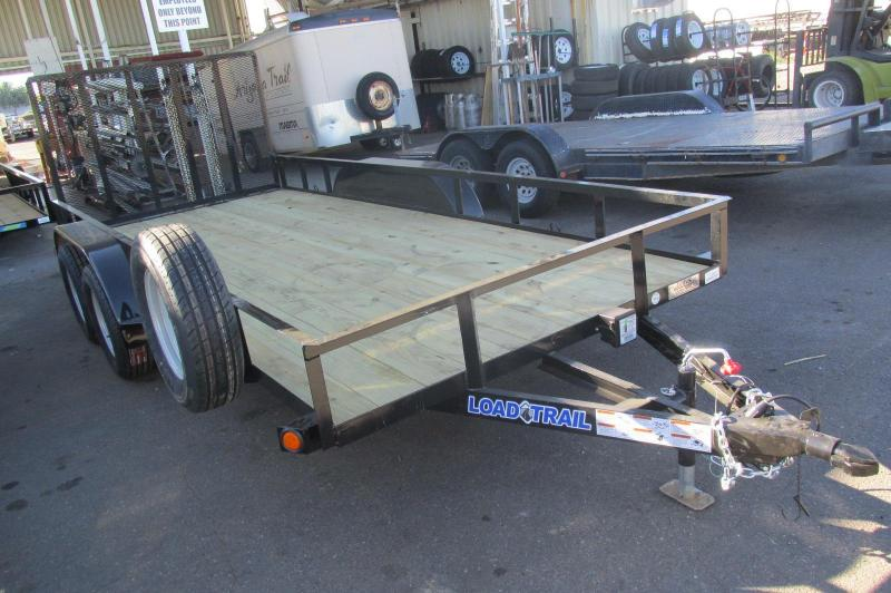 "2017 Load Trail 16X 77"" UT07 Utility Trailer"