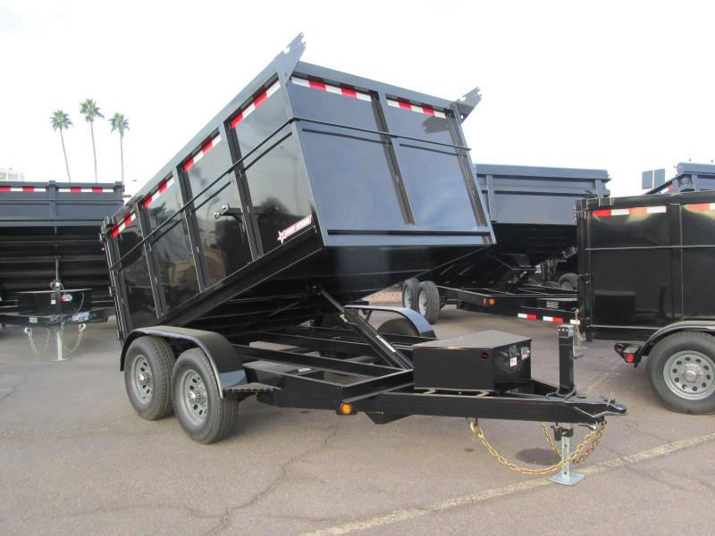 2018 Five Star 6X10 Dump Trailer