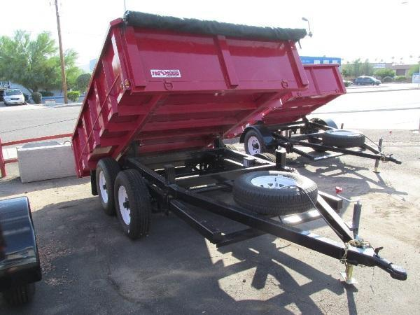 2015 RED E 70B Dump Trailer Selling at Our Cost!!!