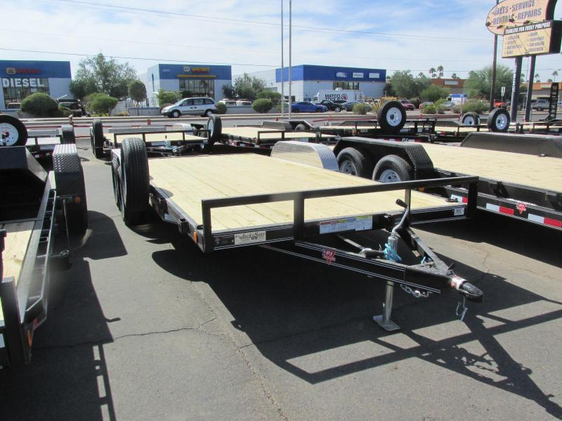 2017 PJ Trailers 83X18 CAR HAULER Car / Racing Trailer