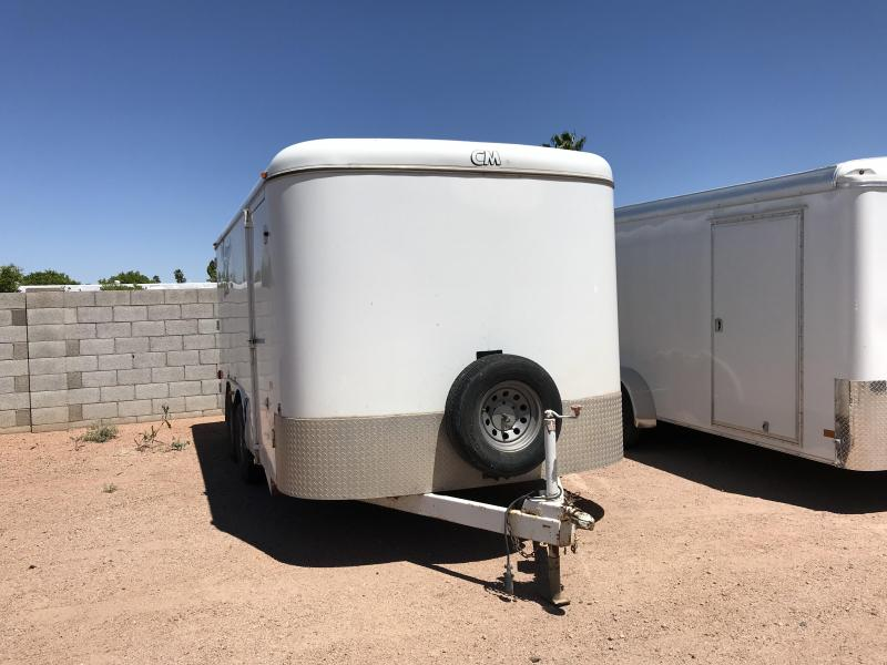 2002 CM 8.5X16 Enclosed Cargo Trailer