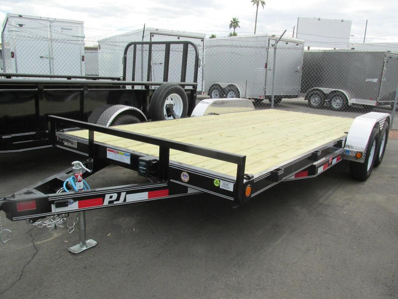 2018 PJ Trailers 83X18 Car / Racing Trailer