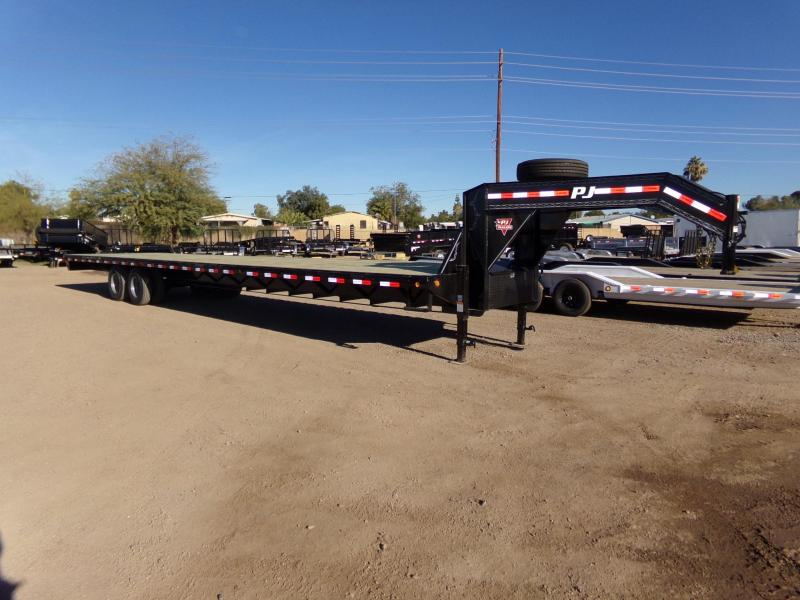 2019 PJ Trailers 40 FT GOOSENECK TANDEM DUAL Equipment Trailer