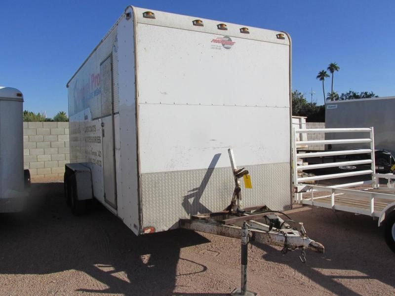 2005 Progressive 7X18 Enclosed Cargo Trailer