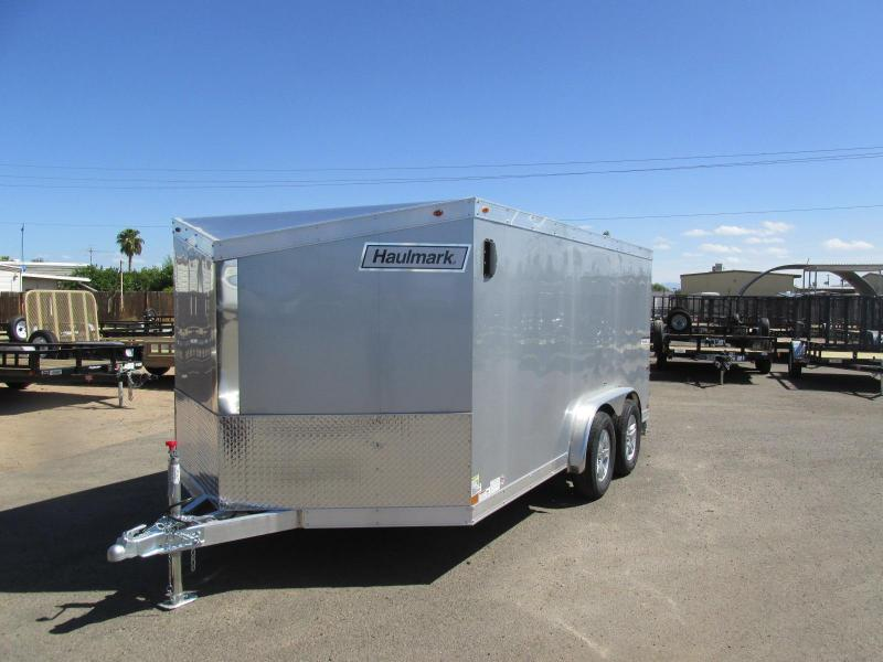 2018 Haulmark Enclosed Cargo Trailer 7.5 x 14