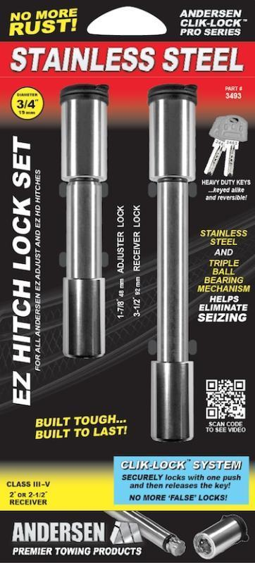 Steel EZ HD 14K Rapid Hitch Lock Set