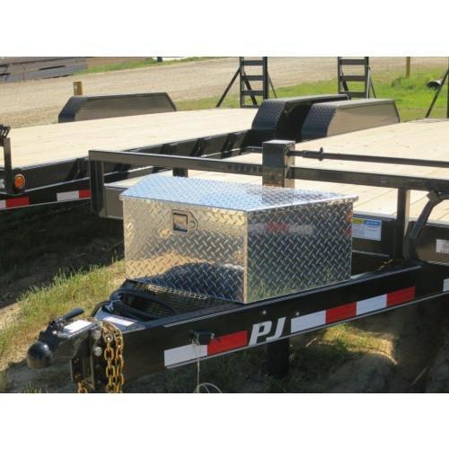 A-Frame Large Aluminum Tool Box