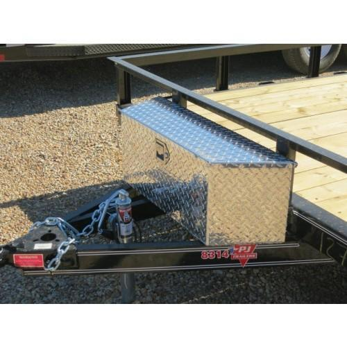 A-Frame Small Aluminum Tool Box
