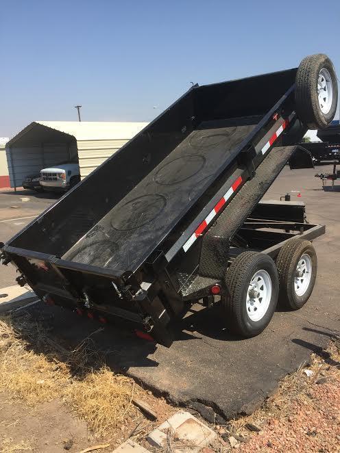 Brand New! 2018 PJ Trailers 10X60 Utility Dump Trailer