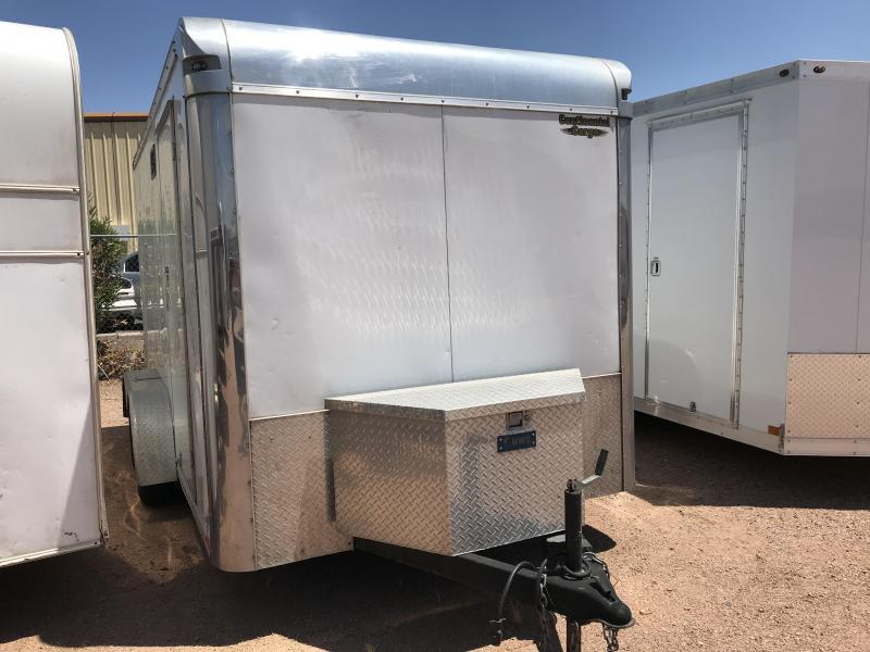 2016 Continental Cargo 7X12 Enclosed Cargo Trailer