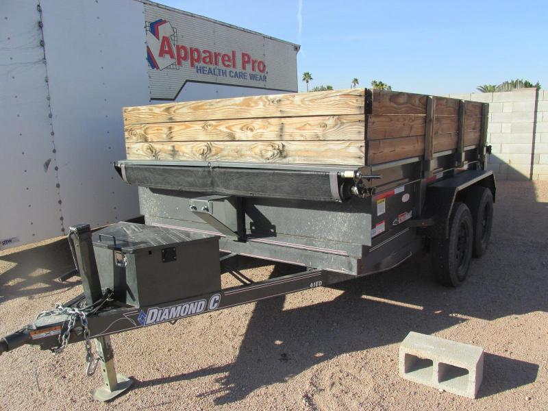 2015 Diamond C Trailers 83X10 Dump Trailer
