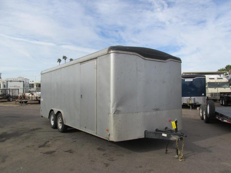 2015 Haulmark 8.5X20 Enclosed Cargo Trailer