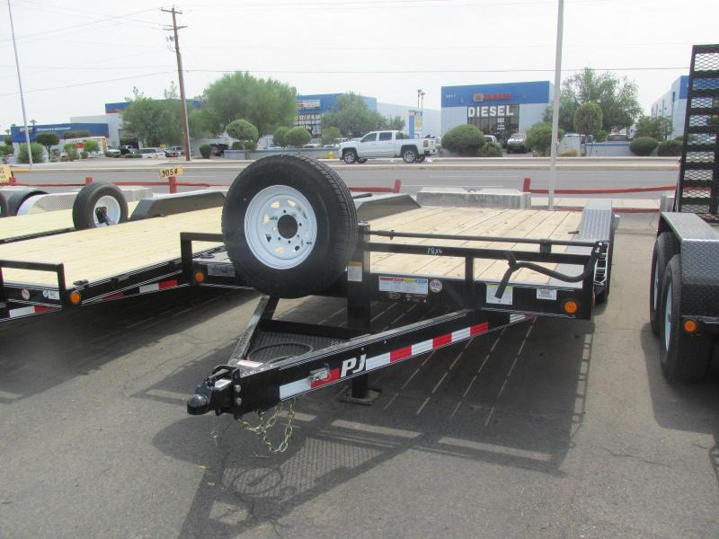 2017 PJ Trailers B6 6 Channel Super-Wide Equipment Trailer