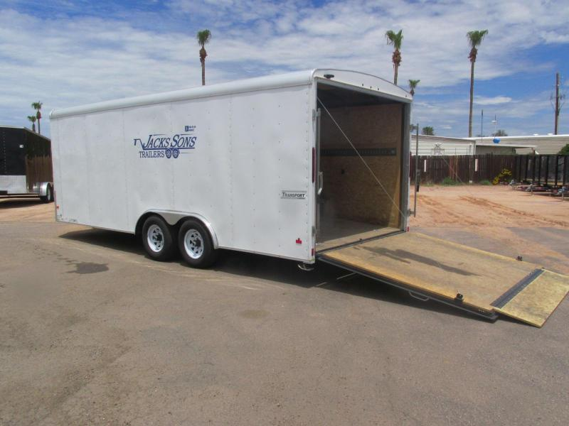 RENT ME!!! 8.5' X 20' Enclosed Car / Racing Trailer
