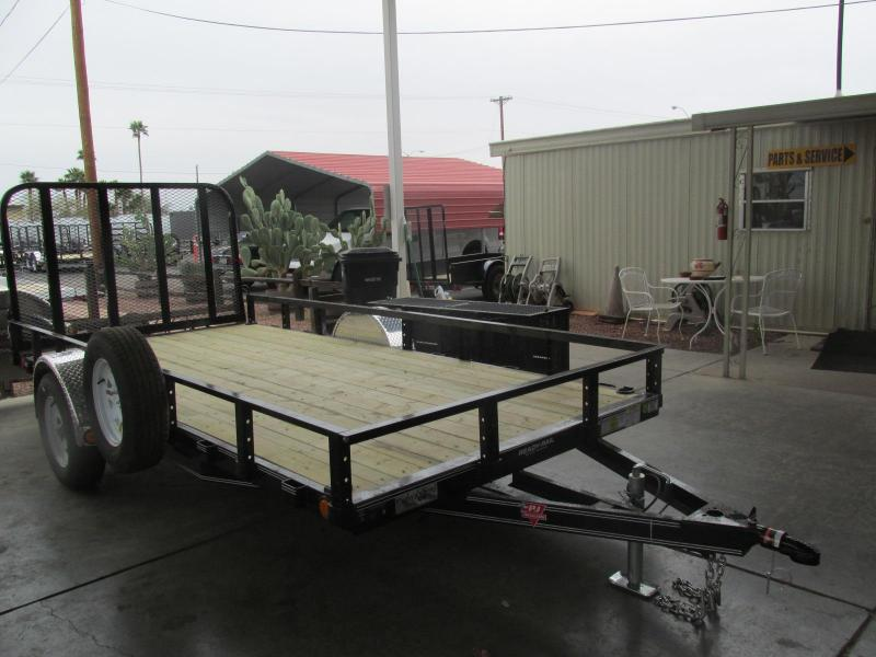 2017 PJ Trailers 14 x 77 Channel Utility Utility Trailer